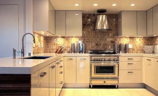 Ideen für die Küchenbeleuchtung
