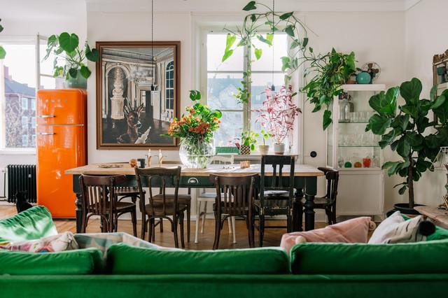 Kleine Räume mit Pflanzen dekorieren