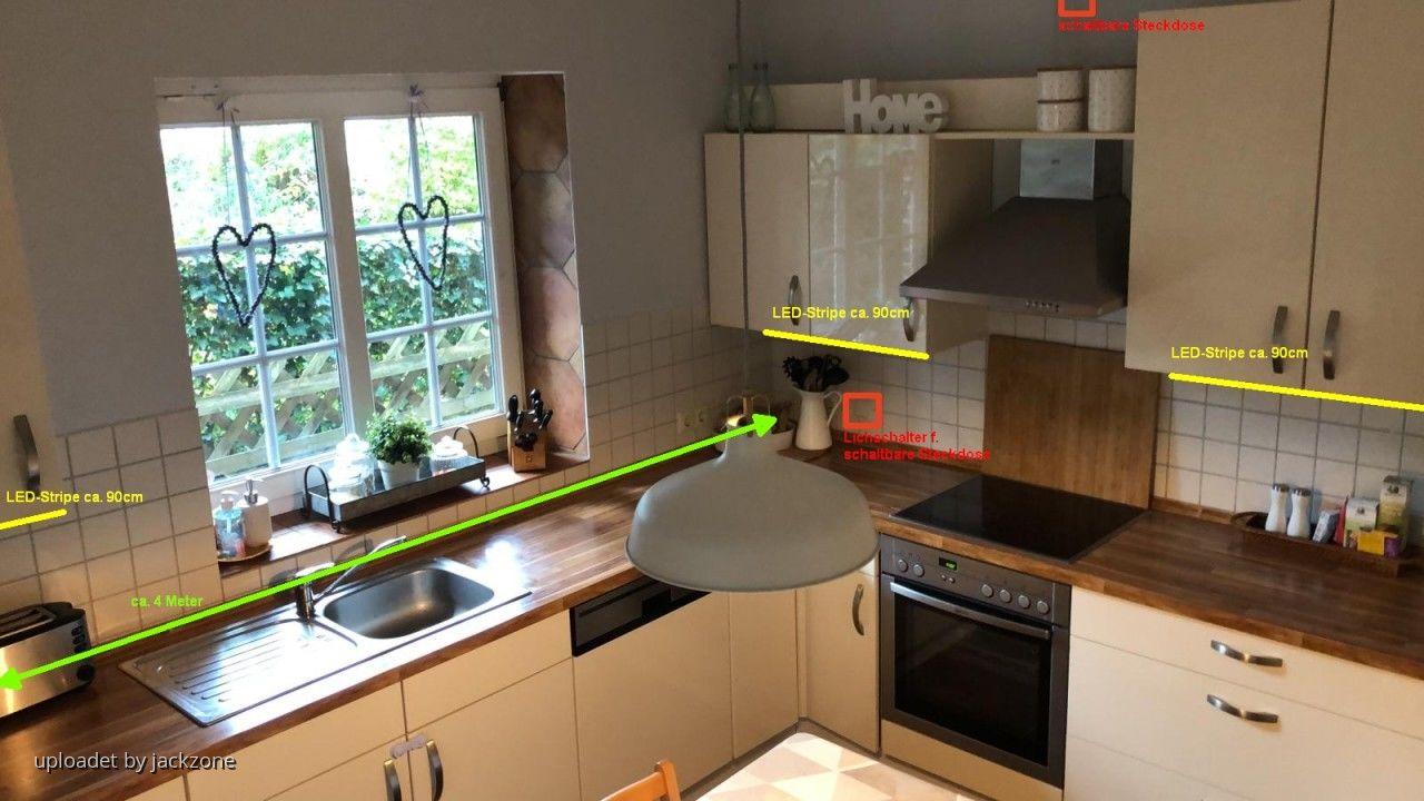 Task- und Ambientebeleuchtung für die Küche
